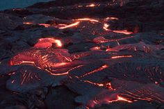 Hellish Flow by Francois Malan - Photo 171691959 / Our Planet, Lava, Flow, Planets, Island, Red, Islands, Plants