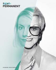 """Semi-Permanent branding featuring Penny Martin from """"the gentlewoman"""" magazine & their Issue #6 cover star Angela Lansbury photographed by Terry Richardson."""