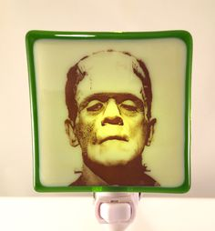 A personal favorite from my Etsy shop https://www.etsy.com/listing/467502750/frankenstein-night-light-classic-horror