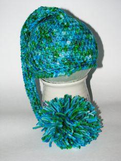 Newborn Crochet Elf Hat Photography Prop Elf Hat with by giggalz