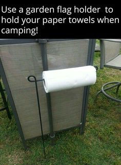 This is such a great idea for Camping!!