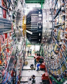 Photo @lucalocatelliphoto CERN's Large Hadron Collider (LHC) and its experiments are now back in action, taking physics data for 2016 that will give us an improved understanding of fundamental physics. CERN is one of the most advanced technology centers on the planet where over eleven thousand scientists from around the world are probing the fundamental structure of the universe.