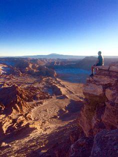 """Juste à temps pour un coucher de soleil sur la Vallée de La Lune - Carnet de voyage """"Road trip en Amérique du sud"""""""