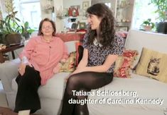 Kennedy's nanny speaks She's a saint: When Caroline and John Jr. Kennedy grew too old for a nanny, she became the family's cook before taking care of Caroline's children, Rose, Tatiana (pictured), and Jack Schlossberg