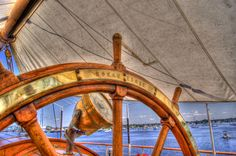 """USCG Eagle """"America's Tall Ship"""" In HDR by AMP"""
