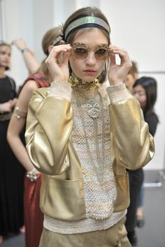 """CHANEL Cruise 2017-18 in Paris : """"The Modernity of Antiquity"""", an ideal vision of Ancient Greece as imagined by #KarlLagerfeld #Chanel #ChanelCruise 