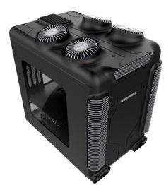 """DEEPCOOL STEAM CASTLE (BLACK) Micro ATX / Mini ITX Case."" I Just wish it came in Full Tower!"