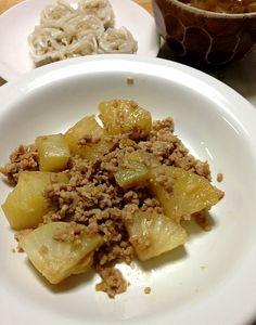 大好評大根と鶏ひき肉で作る料理レシピアイディア集