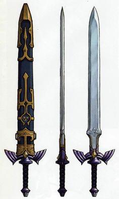 The Legend of Zelda: Twilight Princess. Master Sword