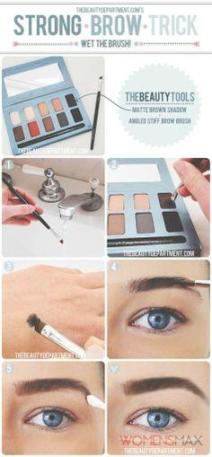 Eye makeup tutorial - http://womensmax.com/eye-makeup-tutorial-2
