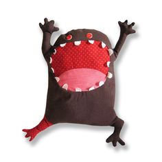 Grunchi is a stuffed toy monster with nice and friendly character. He can be your good friend or a nice gift for your family and friends... Made of