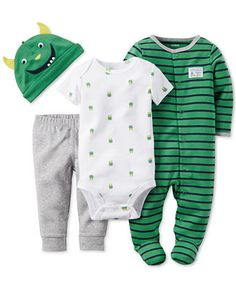 Carter's Baby Boys' 4-Piece Take Me Home Set - Newborn Shop - Kids & Baby - Macy's