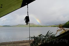 Loch Morar from the hammock