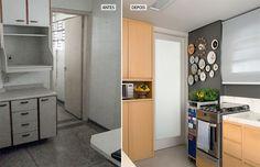 WALLS Suvinil, ref. cinza-asfalto, P161 - AIRPLANE CART - Pacto entre irmãos: apartamento de 62 m² reformado - Casa
