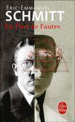 La Part de l'autre est un roman de l'écrivain français Éric-Emmanuel Schmitt, paru en 2001. Il s'agit d'une biographie romancée d'Adolf Hitler en parallèle avec une biographie uchronique d'Adolf H. Selon Schmitt, « la minute qui a changé le cours du monde est celle où l'un des membres du jury de l'École des beaux-arts de Vienne prononça la phrase « Adolf Hitler : recalé » Ceci n'est pas de Marie, je le recopierai plus tard. #lefeu