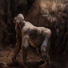 Ga-Gorib (African) http://www.mythicalcreatureslist.com/mythical-creature/Ga-Gorib