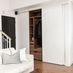 Dorion Project Reveal - Entryway - Valérie De L'Étoile Interior Design Closet, Design, Home Decor, Armoire, Decoration Home, Room Decor, Closets, Cupboard