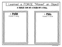 (sample page) FORCE AND MOTION ...AND GRAVITY: Science Journal for Young Students. $