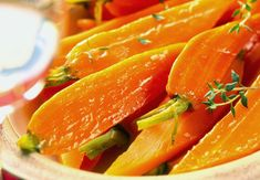 glazed carrots with