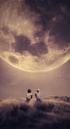 Where we tell our stories Space Poster Print Foto Top, Moon Pictures, Beautiful Moon, Moon Art, Love Images, Stars And Moon, Creative Photography, Night Skies, Cute Wallpapers