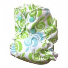 Gorgeous size 1 apple cheeks pocket nappy/cover.  This pocket nappy can be used either as a cover or as a pocket nappy.  fabulous design and bargain price of £12.55 with FREE UK POSTAGE!