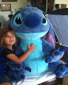 "Giant Stitch Plush Toy Doll Stuffed Animal Disney Store Lilo Huge 30"" As A Dog #Disney"