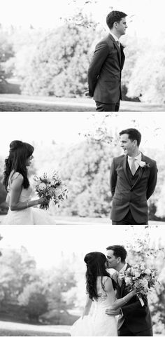 Love this first look three-part story captured by http://www.mademoisellefiona.com/