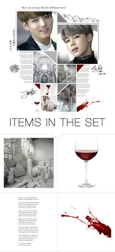"""""""a bloody white collar"""" by bangtan-life ❤ liked on Polyvore featuring art"""