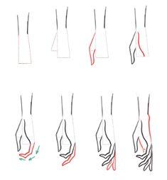 How To Draw Hands - I Draw Fashion Academy