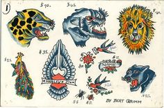 tattooflash:  Bert Grimm