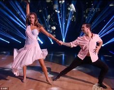 Mark Ballas & Sadie Robertson with a classy Rumba - Dancing With the Stars - Season 19 - week 6 - fall 2014