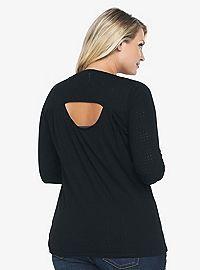 Plus Size Fashion for Women | Torrid.    I like the peek a boo, adds interest