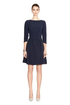 Camelot Dress Midnight Blue – Model