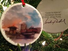 Jack Puhl Christmas Cedar to Adams Scranton by jackpuhl on Etsy, $20.00 Fine Art, Christmas Ornaments, Holiday Decor, Handmade Gifts, Etsy, Vintage, Beautiful, Kid Craft Gifts, Christmas Jewelry