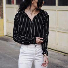 Stripes, obviously. Also, I sleep with this choker on, aka I'm always wearing it aka #bougie 💅🏼
