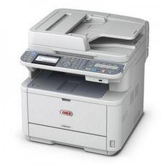 Oki LED Multifunction Printer - Monochrome - Plain Paper Print - Desktop - EU Printer - Copier/Printer/Scanner - 35 ppm Mono Print - 2400 x 600 dpi Print - Automatic Duplex Print - 35 cpm Mono Copy - 1 x Input Tray 250 Sheet, 1 x Multipurpose Printer Scanner, Laser Printer, Inkjet Printer, Wireless Printer, Wireless Lan, Multifunction Printer, Printer Driver, Computer Accessories, Bathroom Accessories