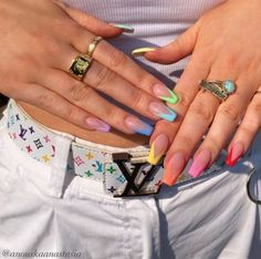 Awesome Acrylic Coffin Nails Designs In Summer - Pretty nails,Awesome Acrylic Coffin Nails De. - Awesome Acrylic Coffin Nails Designs In Summer – Pretty nails, - Aycrlic Nails, Swag Nails, Zebra Nails, Gradient Nails, Pastel Nails, Yellow Nails, Nail Design Glitter, Glitter Nails, Nagellack Design