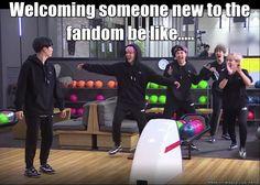 Welcome to the fandom!!!! BTS_KPOP XD