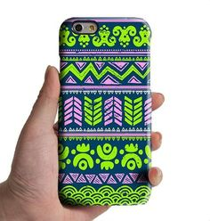 Lime Turquoise Aztec Tribal iPhone 6s 6 Case iPhone 6 plus Case iPhone 5S 5 iPhone 5C Case Retro Samsung Galaxy S6 edge S6 S5 S4 Note 3 Case 034lime