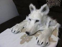 Wolf Headdress [animal friendly ...