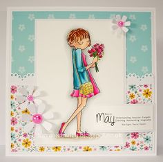 LOTV - Thoroughly Modern Misses - May by Lorraine Bailey Birthday Cards For Women, Good Morning Everyone, Greeting Cards Handmade, Cardmaking, Lorraine, Lily, Paper Crafts, Modern, Blog