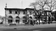 La vieja estación de autobuses de la calle Francia hasta ser derruida en 1998.