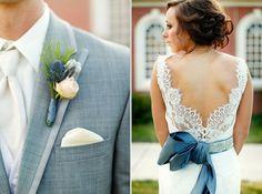 custom bridal sash + something blue + swarovski crystals + raw silk + HOUSEofLOVELY