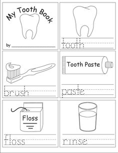 Dramatic image throughout dental health printable activities