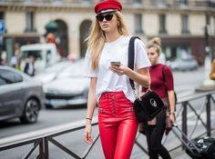 Wer wagt gewinnt! Gilt vor allem für Rote Lederhosen! Wie wir sie stilvoll tragen? Jetzt hier lesen: http://ift.tt/2zbJk2S #elletrends #fallstyle #happyfriday via ELLE GERMANY MAGAZINE OFFICIAL INSTAGRAM - Fashion Campaigns  Haute Couture  Advertising  Editorial Photography  Magazine Cover Designs  Supermodels  Runway Models