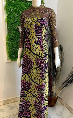 Long African Dresses, Ankara Long Gown Styles, African Fashion Skirts, African Fashion Designers, Ankara Fashion, Ankara Styles, African Attire, African Wear, African Style
