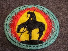 Image result for native american beaded belt buckles