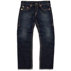 True Religion Logan Super T Jeans ($505) via Polyvore