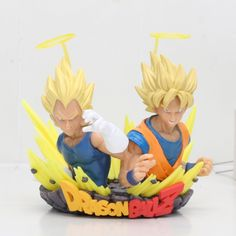 Everything on SALE & Free Worldwide Shipping! Vegeta & Goku Dragon Ball Z colosseum figure Price: $ 25.00 & FREE Shipping #toys