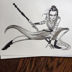 Rey of Star Wars by Nathan Greno